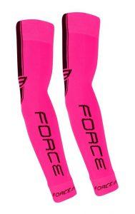 Force Růžové Návleky na ruce pletené