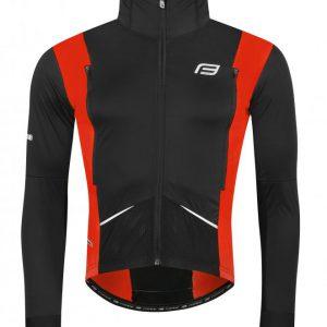 Force X58 černo-červená cyklistická bunda neprofuk
