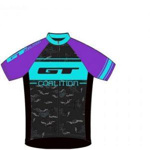 Gt Race Purple/blue 2017 dámský cyklodres
