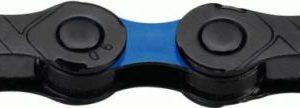 Kmc DLC 12 černo/modrý BOX řetěz
