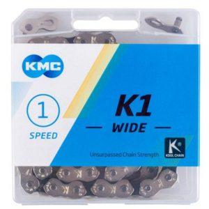 Kmc K1 Wide 1/2x1/8 Stříbrný BOX řetěz