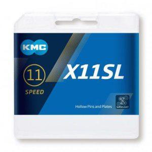 Kmc X11 SL černo/zlatý BOX řetěz