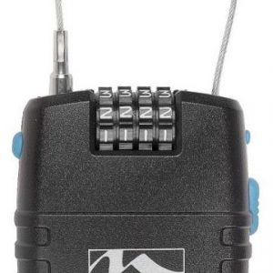 M-WAVE Zámek s alarmem - lankový