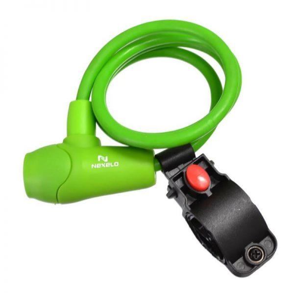 NEXELO 650mm spirála zelený zámek