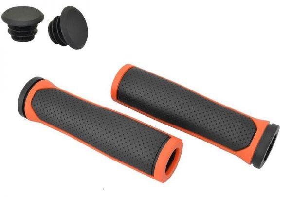 Nexelo Comfort černo/oranžová madla