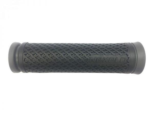 Nexelo Gumová 128mm černo/šedá madla