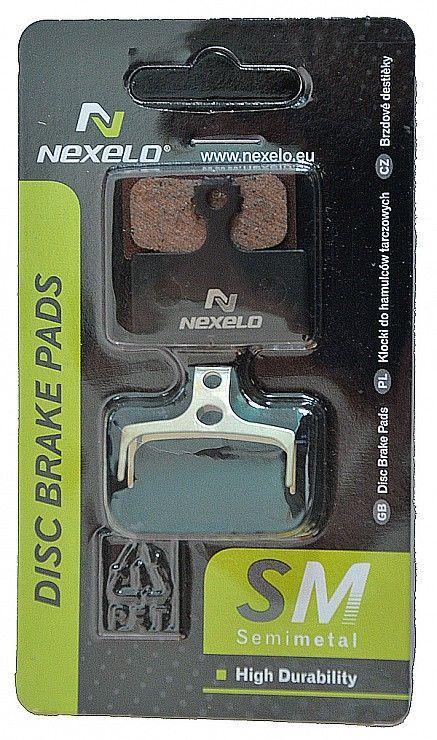 Nexelo SH.BRM985 Semimetalické destičky brzd