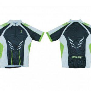 Sulov 1 zelený Cyklistický dres