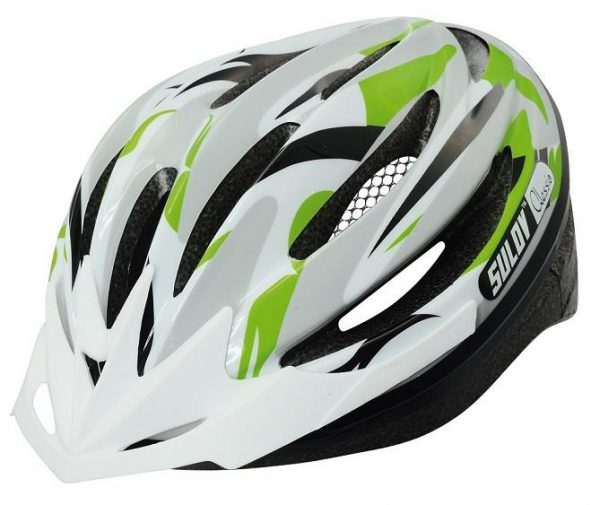 Sulov ALESSIA zelená cyklo přilba