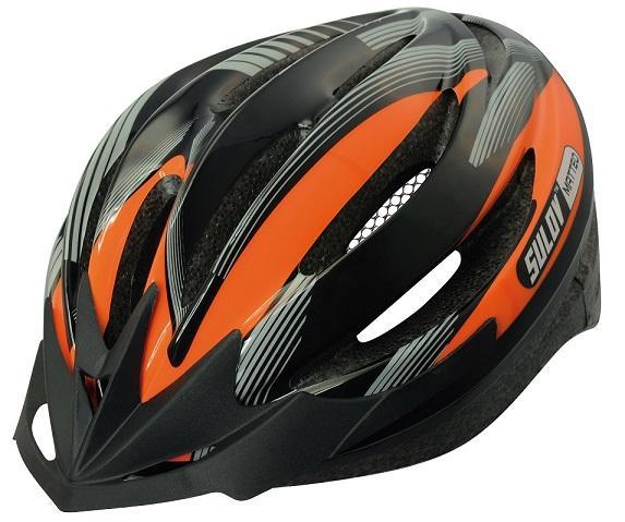Sulov MATTEO oranžová Cyklo přilba