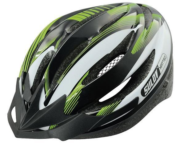 Sulov MATTEO zelená Cyklo přilba