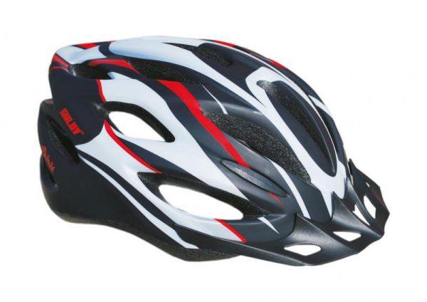 Sulov Spirit černo-červená cyklistická helma