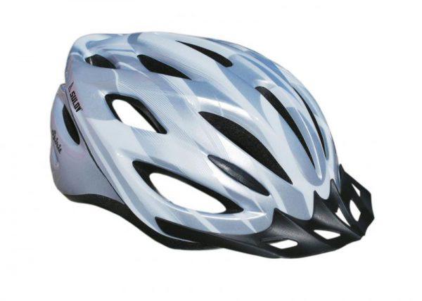 Sulov Spirit stříbrná cyklistická helma