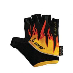 Sulov TWIST GEL fire dětské rukavice