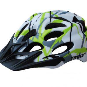 Truly Freedom zeleno/bílá cyklistická helma