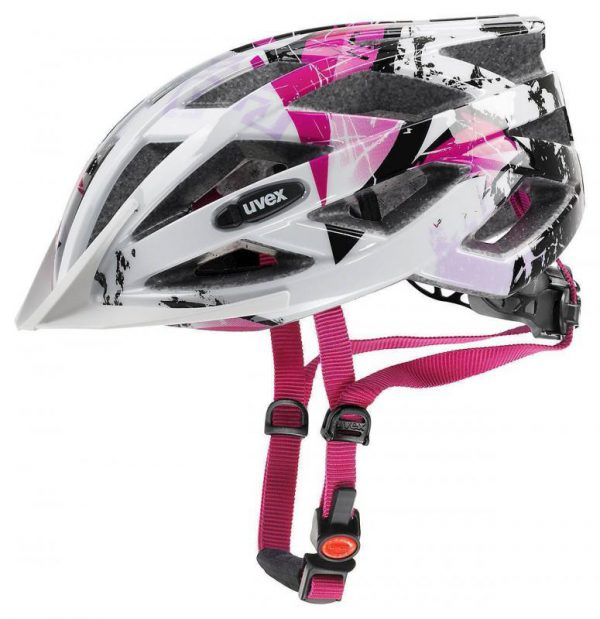 Uvex Air Wing White-pink