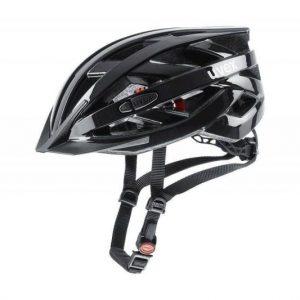 Uvex I-vo 3d Black 2020 cyklistická helma + reflexní sada