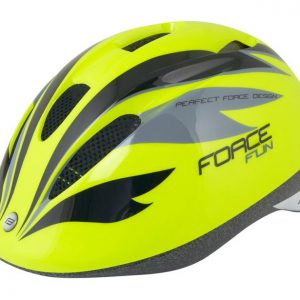 Force FUN STRIPES fluo-černo-šedá