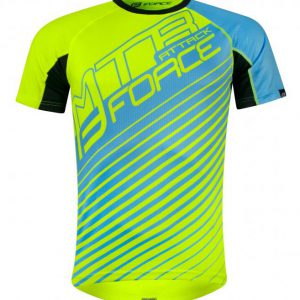 Force MTB ATTACK fluo-modrý