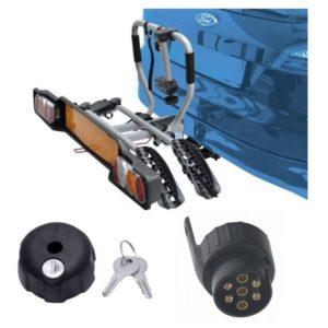 Peruzzo SIENA 2 kola nosič na tažné zařízení + 1x zámek nosiče + adaptér el. přípojky