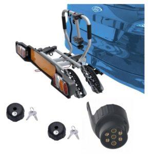 Peruzzo SIENA 2 kola nosič na tažné zařízení + 2x zámek nosiče + adaptér el. přípojky