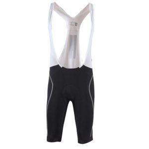 2117 Flo - pánské cykl.kr.kalhoty s kšandami - černé