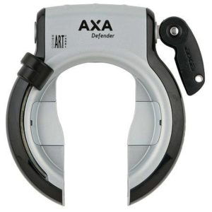 Axa Zámek Defender Stříbrná/černá