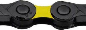 Kmc DLC 12 černo/žlutý BOX řetěz