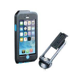 Topeak Obal Weatherproof Ridecase Pro Iphone 5 + Se Černá/modrá