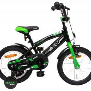 AMIGO BMX Fun černá/zelená