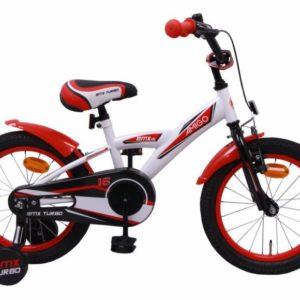 AMIGO BMX Turbo bílo-červená 16