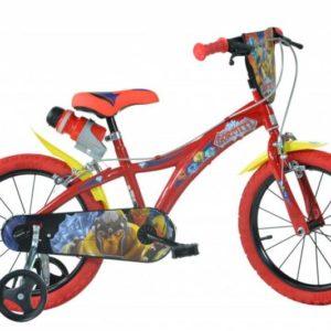 Dino 616-GR Gormiti 16 dětské kolo + reflexní sada