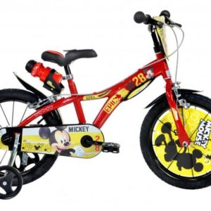 Dino 616-MY Mickey Mouse 16 dětské kolo + reflexní sada