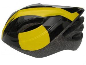 Fly Cyklistická helma černo-žlutá
