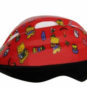 Fly Dětská cyklistická helma medvídci