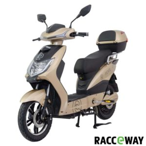 RACCEWAY E-fichtl sv.zlatý-lesklý s baterií 12Ah + sleva 1000