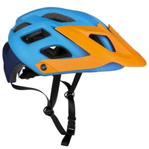 Spokey SINGLETRAIL modrá cyklistická přilba