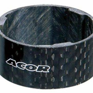 """Acor spacer A-H 1 1/8"""" 15mm carbon"""