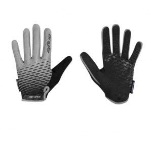 Force KID MTB ANGLE šedo-černé letní rukavice