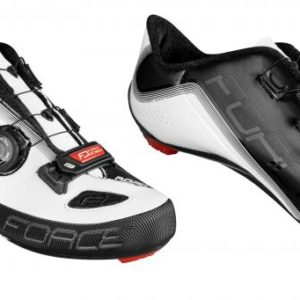 Force ROAD LIGHT CARBON bílo-černé cyklistické tretry