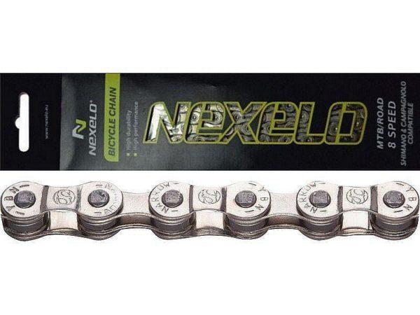 Nexelo 8 Kolo E-bike 136 článků řetěz