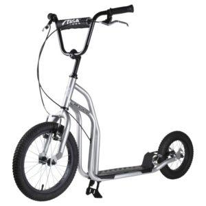 """Stiga Air Scooter 16"""" stříbrná"""