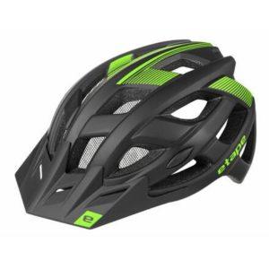 Etape Escape cyklistická helma černá-zelená