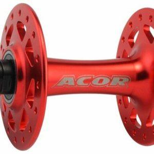 Acor náboj 36 děr přední červený