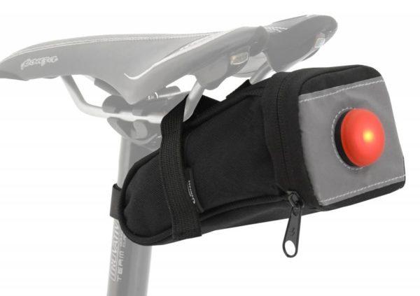Compass Bike Cyklotaška pod sedlo se zadním LED světlem