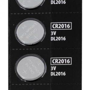 Force Baterie mincové CR2016 / 3V 1 x 5 ks