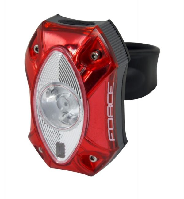 Force RED 1 CREE LED 60LM zadní blikačka