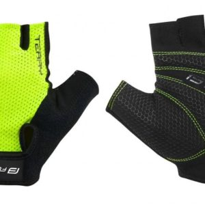 Force TERRY fluo cyklo rukavice