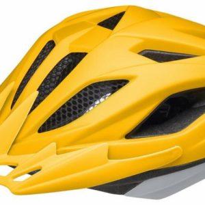 Ked Street Junior Pro yellow grey matt juniorská přilba