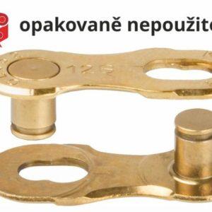 Kmc Spojka řetězu 12NR Ti-N Gold